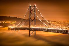 Photograph Fog under the bridge by Nuno Trindade on 500px