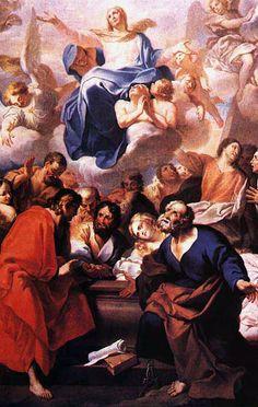 André Gonçalves: Ascensão de Nossa Senhora, 1730. Palácio Nacional de Mafra