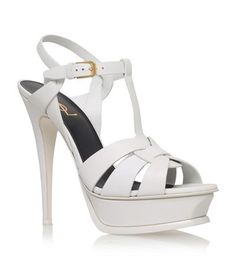 Saint Laurent Tribute Sandal 105 available to buy at Harrods. Shop women s  shoes online and be1e3a5a39