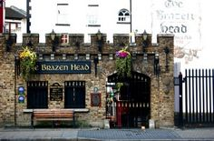 Dublin,  The brazen head..this bar is awesome. Great Craic even just for a quick bite, and a guinness. Lovely location. It is what you'd expect a proper pub to be in Ireland.
