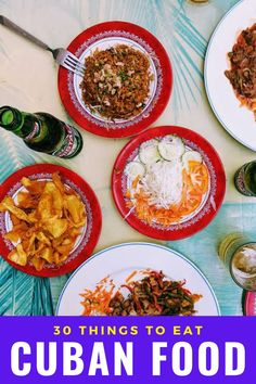 30 Cuban food items you absolutely must try. If you're planning a trip, keep this list of delicious food in Cuba. #cuba #cubanfood #worldcuisine #havana #cuban Around The World Food, Visit Cuba, Lechon, Cuban Recipes, International Recipes, Foodie Travel, Food Items, Tasty Dishes, Havana