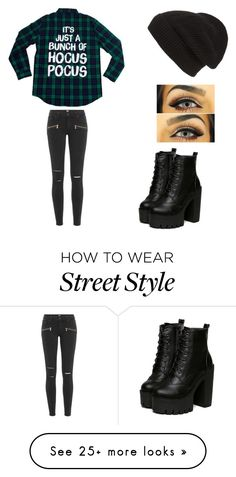 """""""street style"""" by luxxdadutchess on Polyvore featuring Paige Denim and Phase 3"""