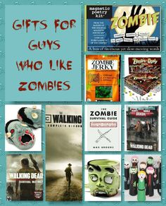 Valentine's Day Gifts for Guys Who Like Zombies