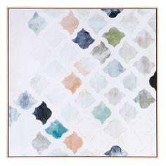 Morrocan Tile Print 110x110cm   Freedom Furniture and Homewares