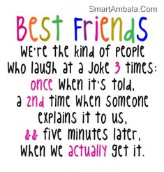 Funny Friendship Quotes and Sayings | Best Friend Are