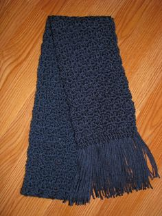 I love to crochet and when I found this pattern I just had to give it a try! I had some Simply Soft yarn that I used and oh....this scarf is so soft and cuddly! I made a couple of these for gifts for Christmas. It isn't too hard either, so even if you are a beginner, give it a try! Have fun!