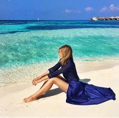 Blues #summerstyle #beachchic #style