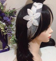 Kristal boncuklardan işlemeli Saç Bandımız..  #saçbandı #sacbandi #headpiece