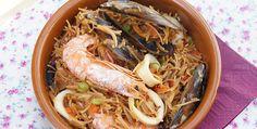 Paella di spaghetti - http://www.piccolericette.net/piccolericette/paella-di-spaghetti/