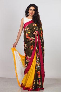 Make a Statement - Printed Pure Silk Saree