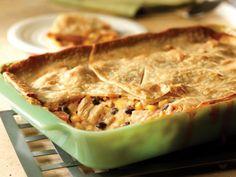 Get Fiesta Chicken Casserole Recipe from Food Network