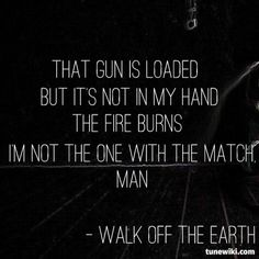 """""""Red Hands"""" by Walk Off the Earth #lyrics"""