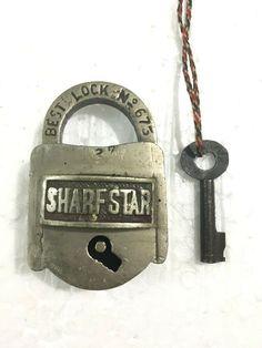 Under Lock And Key, Key Lock, Padlocks, Keys, Puzzle, Hardware, Shapes, Personalized Items, Antiques