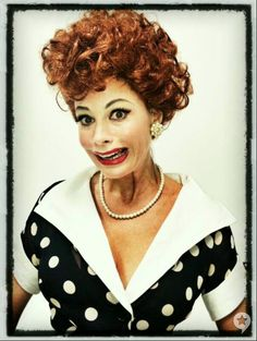 Sofia Vergara Channels Lucille Ball (PHOTO)  Hard to recognize her at all!