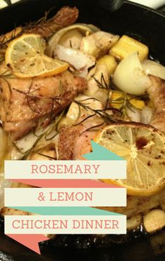 Rachael Ray kept things simple in the kitchen for dinner when she made a one-pot meal of Lemon Rosemary Chicken. Get the recipe and skip doing dishes! Lemon Rosemary Chicken, The Chew, Bariatric Recipes, Best Chicken Recipes, One Pot Meals, Kitchen Recipes, Entrees, Food And Drink