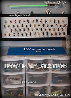 if James ever gets into Legos, this is PURE AWESOME, especially the mini figurine board!  {more info in post}