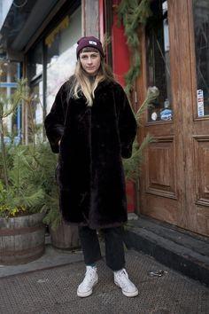 【ELLEgirl】Candice(29)/アート&デザイン関係|【STREET STYLE】ニューヨークスナップ|エル・ガール・オンライン