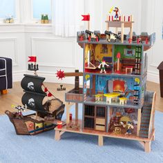 KidKraft Pirate's Cove Play Set - Walmart.com - Walmart.com