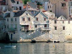 island of komiža, tiny fisherman island.. forgotten by the world, hopes it stays like that:) - Croatia