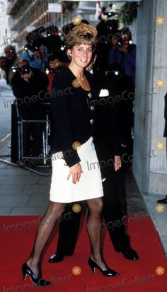 Princess Diana 1991 Drama Awards Photo by Dave Chancellor-alpha-Globe Photos