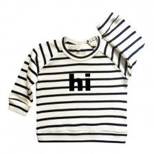 Organic Zoo Sweatshirt Hi Breton Stripe