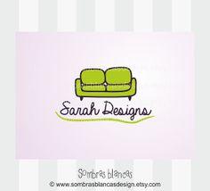 OOAK Premade Logo Design - Green Couch