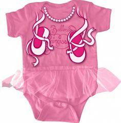 Ballerina Tutu Baby Bodysuit / Costume only $18.95 at #kiditude
