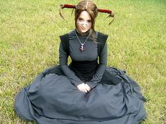wish I was brave enough to dress in cosplay <3 it! Witch Hunter Robin :)