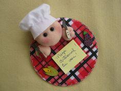 Mini Porta Recados do Cozinheiro com cd