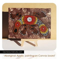 Australian Aboriginal Art, Platypus