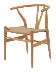4a24f74cf6 Replica Wegner Wishbone Chair - Natural -  169 Wishbone Chair