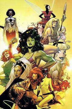 Oliver Coipel - Women of Marvel