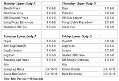 Weight lifting program 1