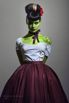 Image detail for -More Ghoulish Halloween Make-up ideas.
