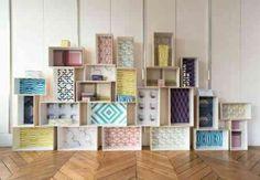 Idée de décoration avec du papier peint original et design