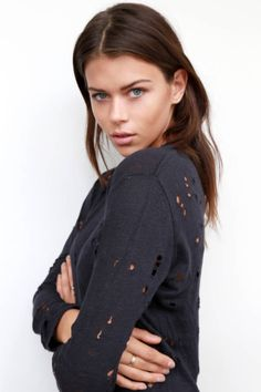 Georgia Fowler featured in Harper's Bazaar 'Model Minute' interview