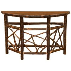 Found it at Wayfair - Hickory Console Table
