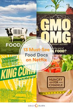 From GMOs to sugar, these groundbreaking food documentaries capture an unfiltered look at the food industry, and how it directly affects our health. via Daily Burn 13th Documentary, What The Health Documentary, Health Documentaries, Netflix, Sugar Detox Recipes, Bad Carbohydrates, Food Inc, Sugar Free Diet, Movies