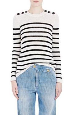 Isabel Marant Étoile Striped Emsley Sweater at Barneys New York