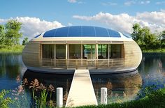 ©WaterNest100 The lovely and ecological floating house by Giancarlo Zema