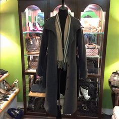 BURBERRY TRENCH Like New!! Fits size 8. Scarf not included and not for sale. No trades or other sites. Offers considered through offer function. Thanks for looking. Burberry Jackets & Coats Trench Coats