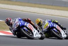 That's MotoGP! The biggest motorsport show on the planet!
