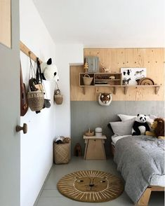 plywood in kids' rooms
