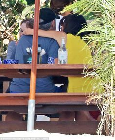 Relaxing: While her handsome new husband is sure to have provided a happy distraction from the stress of her demanding job, Amal has been keeping on top of her heavy workload. Jan. 1, 2015.
