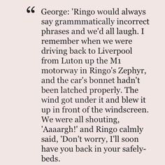 He's such a cutie! I love how he just clicked with their dynamic so quick. I was reading today that that was one of reasons it was easier to let Pete Best go, he didn't get on with them as well, and didn't get their humor. Ringo certainly did.