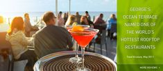 Go to George's at the Cove in La Jolla for a rooftop lunch & you'll get a great meal, great price & spectacular views!
