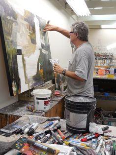 The Studio — Dennis Campay Atelier Photo, Atelier D Art, Artist Life, Artist At Work, Mary Cassatt, Atelier Creation, Abstract Drawings, Abstract Art, Process Art