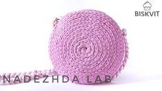 Crochet Handbag Tutorial. Tshirt yarn DIY tutorial