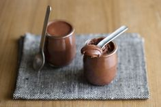 Make this 2-ingredient chocolate mousse...or anything else delicious from this chocolate website. Add a cute paper wrapper around the jar and viola! Instant fun mini-gifts!