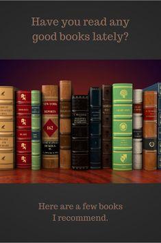 Book recommendations. Novels. Biographies. Nonfiction.